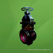 Válvula de gaveta não-ascendente rápida para gás de carvão da cidade (GAMZ48W / GAMZ548W / GAMZ948W)