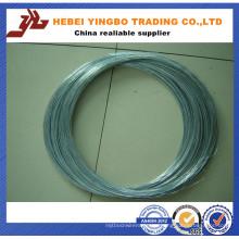 Alambre galvanizado sumergido caliente barato de la fábrica de China / alambre galvanizado del hierro / alambre obligatorio