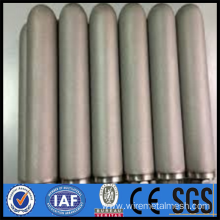 Perforated filter for oil