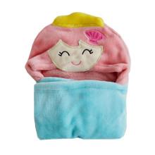 toalha de praia com capuz bebê animal