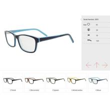Gafas de ojo pequeño qty de proveedores de China, marco óptico de acetato listo