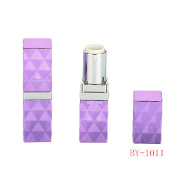 Rectangle Purple Lipstick Tube