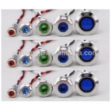 Panel de metal impermeable CMP led luces indicadoras