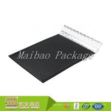 Влагостойкие Самоклеющиеся Пользовательские Металлический Алюминиевый Матовый Черный Пузырь Mailer С Логотипом