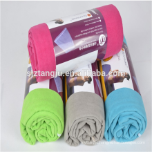 Custom wholesale lightweight super absorbent sports travel towel quick dry