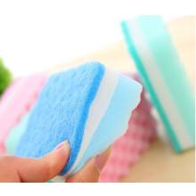 Limpieza de esponja para el hogar