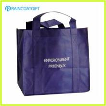 Sac d'emballage recyclable imprimé par logo fait sur commande non tissé Brs-003