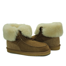 Customized for Womens Suede Winter Boots Design latest women comfy sheepskin fuzzy winter boots export to China Factory