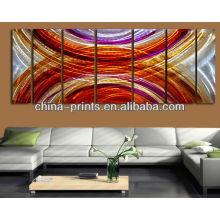 Pintura al óleo decorativa para el dormitorio, pintura hecha a mano