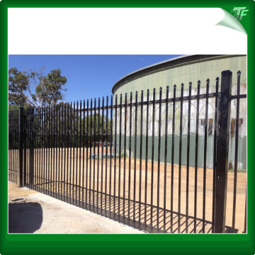 Tugas berat Aussie Security Garrison Fence metal