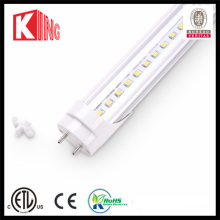 Tubo do diodo emissor de luz de SMD2835 110lm / W ETL DLC 4FT 18W T8