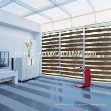 Qualidade superior Elegante Casa Decoração Interior Janela Motorizada Zebra Blinds