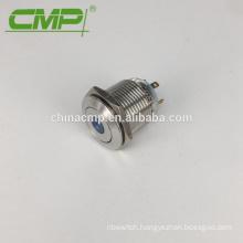 CMP Dot LED Light Switch 16mm 4 Pins Illuminated Pushbutton Switch