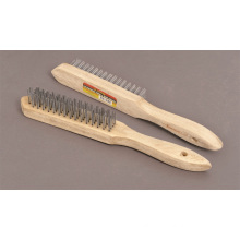 Power Tools Accessories Wire Brush 4 Row Industrial Brushes