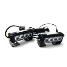 8W Police Ambulance Firetruck Special Traffic Vehicles 12V / 24V Dual Colors LED Strobe Intermitente Luz de Advertencia de Emergencia Bar