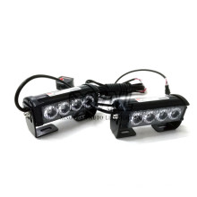 8W Police Ambulance Firetruck Special Traffic Vehicles 12V / 24V Dual Colors LED Strobe Flashing Emergency Warning Light Bar