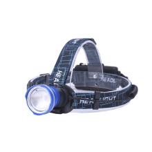 Lampe frontale en aluminium ultra-brillante avec zoom Zoom