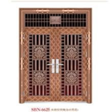 Door /Stainless Steel Door /Entrance Door/ Son and Mother (6625)