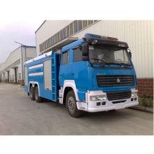 HOWO 6x4 LHD ou Rhd 20000 litros caminhão de combate incêndio