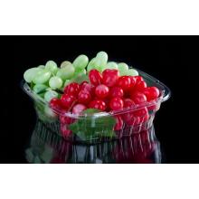 Caixa de embalagem pequena de tomate e fruta