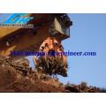 Electro Hydraulic Orange Peel Grab para residuos de acero y basura