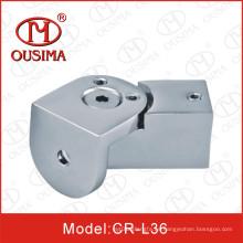Conector de tubería para puerta de cristal de la ducha