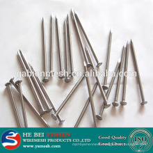 Low price galvanized iron wire/ polished common nail iron factory