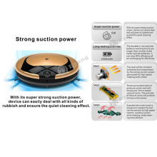 Mini Low Noise More Powerful Vacuum Cleaner Robot, Home Appliance