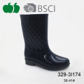 Hot Selling New Fashionable Pvc Plastic Lady Rain Boot