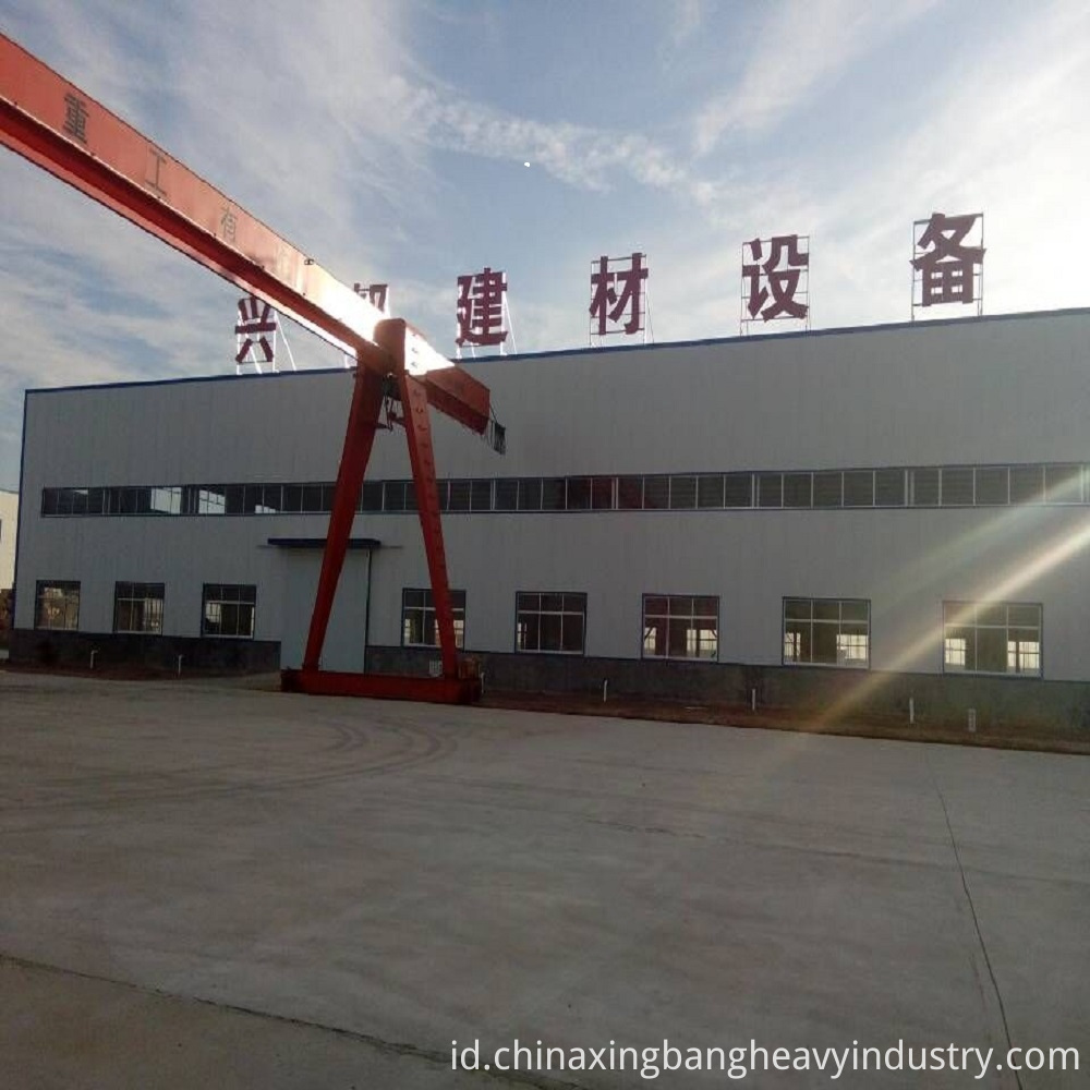 Fireproof Fire door core board machine factory picture