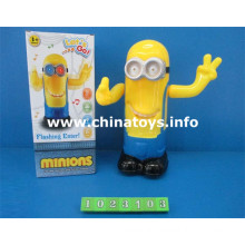 Hot Selling Toy Minions B / O com Luz e Música (1023.103)