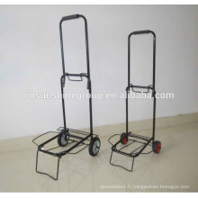 3 bagages de l'aéroport mini roue chariots chariot de bagages portable