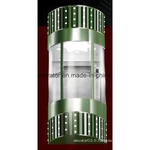 Ascenseur panoramique avec cabine en verre (JQ-A004)