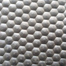 Durable Hammered Surface Rubber Wean to Finish Mat with Woven Fiber for Pig