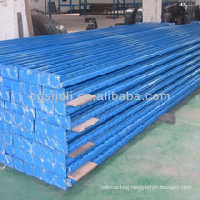 upright and beam pallet stacking rack