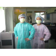 Disposable Medical Non Woven Fabric For Lab Coat Caps