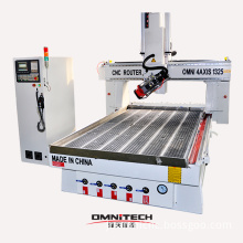Omni 1325/ 1530 /2030 CNC Machine with 4 Axis Function