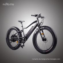 BAFANG hinteres Motor fetten Reifen elektrisches Fahrrad preiswertes motorisiertes Fahrrad, 48V550W heißer Verkauf ebike