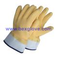 Latex Coated Glove, Safety Cuff