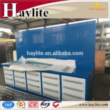 Haylite banco de trabajo de metal banco de trabajo de acero nuevo diseño