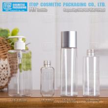 60ml 120ml 150ml 240ml style différent bonne qualité à la mode simple couche plastique PET clair bouteilles en gros