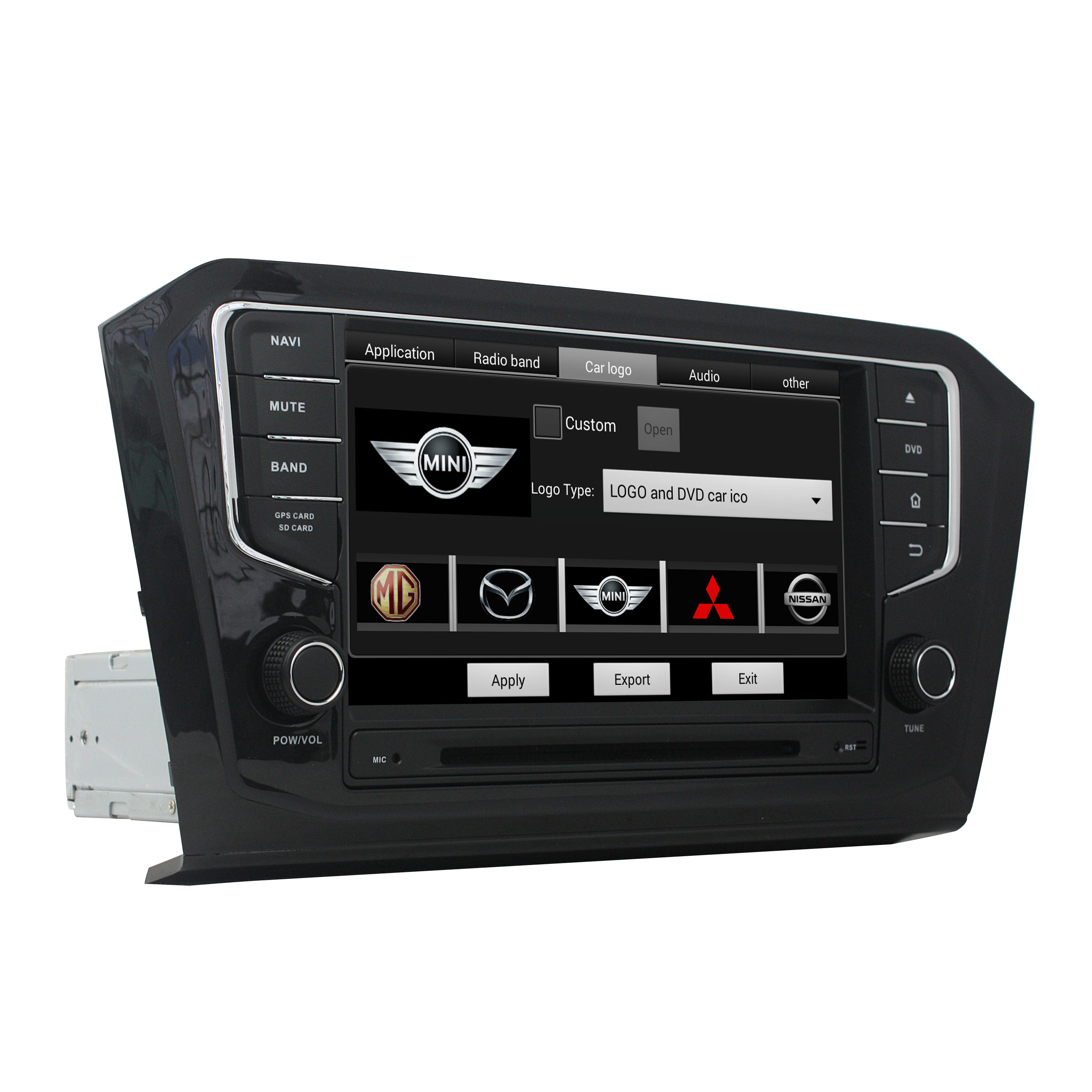 PASSAT 2015 Car DVD Player for VW series