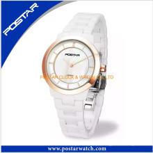 Reloj encantador simple modificado para requisitos particulares moda para las señoras