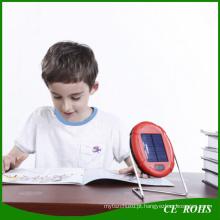 Luz solar portátil da tabela da mesa da lâmpada de leitura solar com carga de USB para crianças africanas