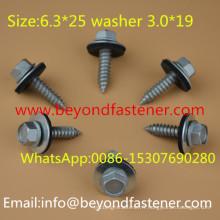 Vis autotaraudeuse à vis Ruspert EPDM Bond Washer 3.0 * 19