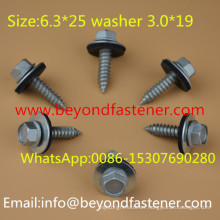 Ruspert Screw Self Tapping Screw EPDM Bond Washer 3.0*19