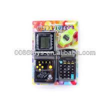 Brick Jogo 9999 Em 1 Calculadora Relógio Para Crianças Calculadora Relógio Para Crianças