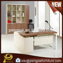Modular MDF melamine office table design