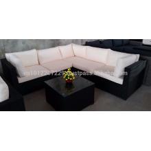 Mobília de jardim de jardim / vime - Lounge médio