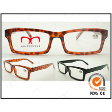 New Design Unisex Reading Glasses with Square Frame (ZX006)
